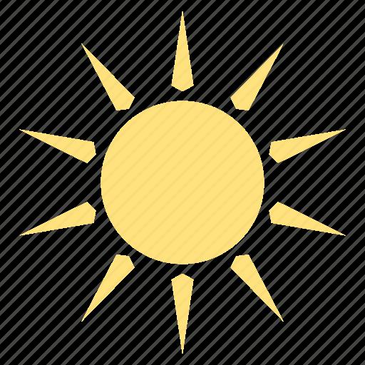 climate, summer, sun, sunlight, sunny, weather icon