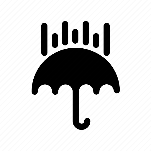 climate, meteorology, nature, rain, umbrella, weather icon