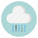 cloud, forecast, nature, rain, weather icon