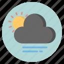 cloud, forecast, nature, sun, weather