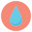 drop, forecast, nature, rain, weather icon
