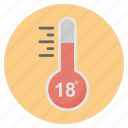 forecast, hot, nature, summer, weather icon
