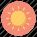 forecast, nature, sun, weather