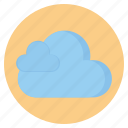 cloud, forecast, naturecloudy, weather icon