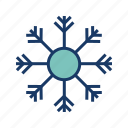 cold, snow, snowfall, snowflakes, weather, winter icon
