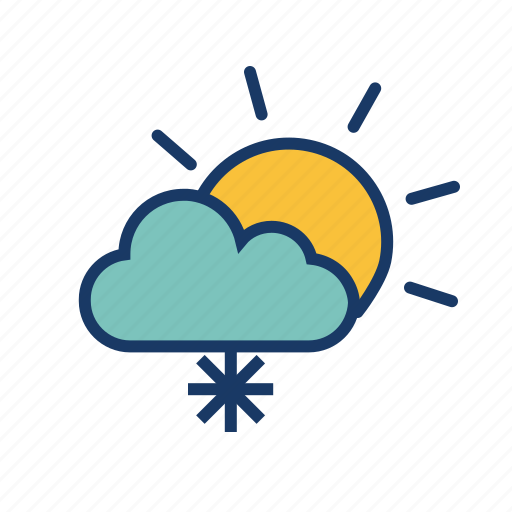cloud, forecast, hailstones, snow, snowfall, weather, winter icon