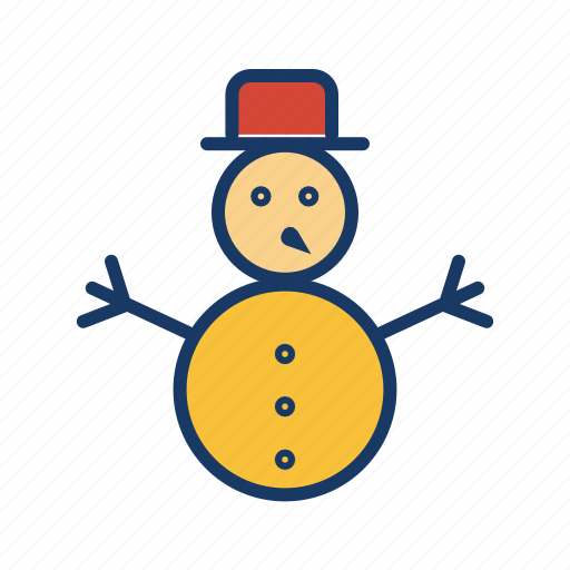 christmas, cold, holiday, snow, snowman, winter, xmas icon