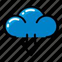 cloud, download, cloudy