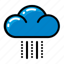 climate, cloud, rain, snow icon