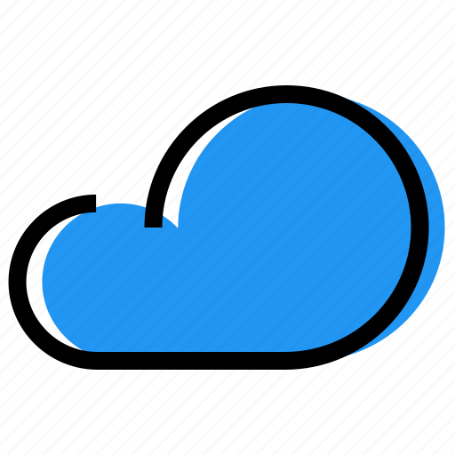 cloud, forecast, sky, synoptic, weather icon