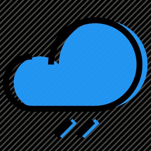 cloud, forecast, rainfall, sky, synoptic, weather icon