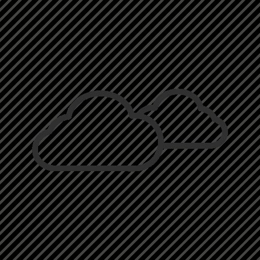 cloud, clouds, cloudy, cloudy day, cloudy sky, sky, water vapor icon