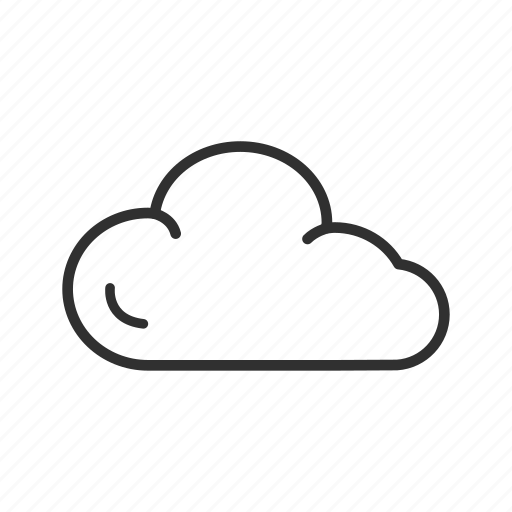 cloud, clouds, cloudy day, cotton, sky, water vapor, weather icon