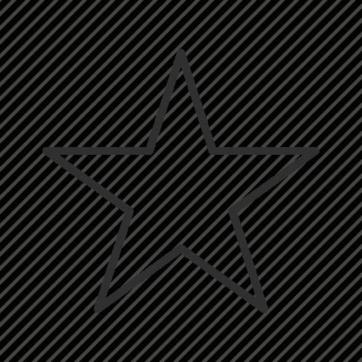 bright star, night star, plain star, simple star, star, stars, twinkle star icon