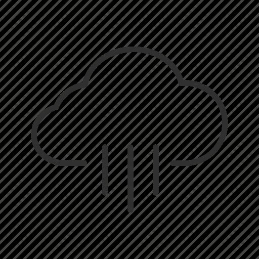 cloud, rain, raindrops, rainy, rainy clouds, rainy day, rainy weather icon