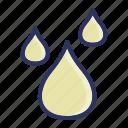 drop, rain, water, weather icon