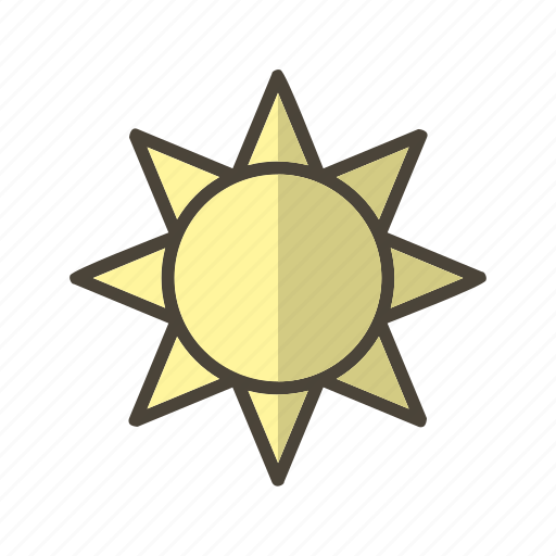 brightness, summer, sunny icon