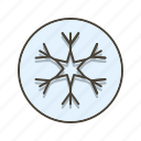 snow, snow fall, snow flake icon