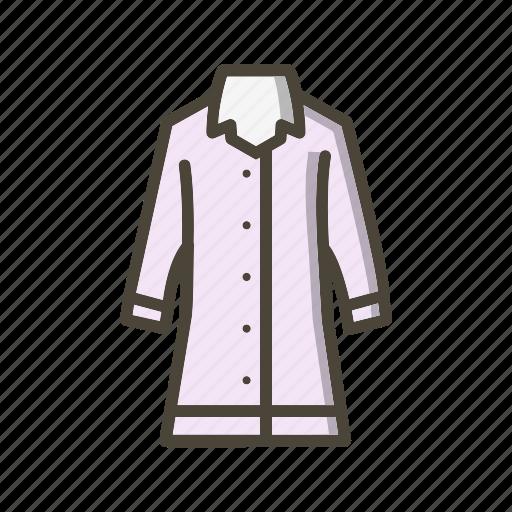 Jacket, long coat, rain coat icon - Download on Iconfinder