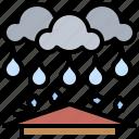 cloudy, hailstorm, meteorology, rain, rainy, storm, weather icon