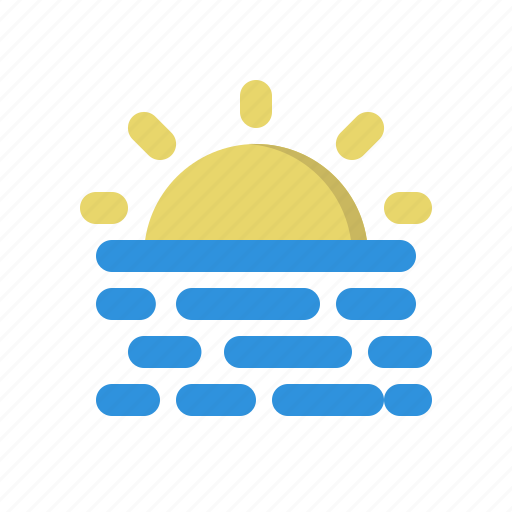 sun, warm, weather icon