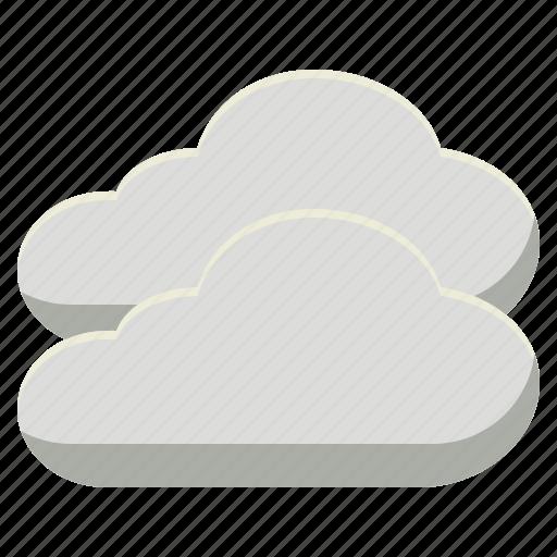 cloud, cloudy, nimbus, overcast, vapour icon