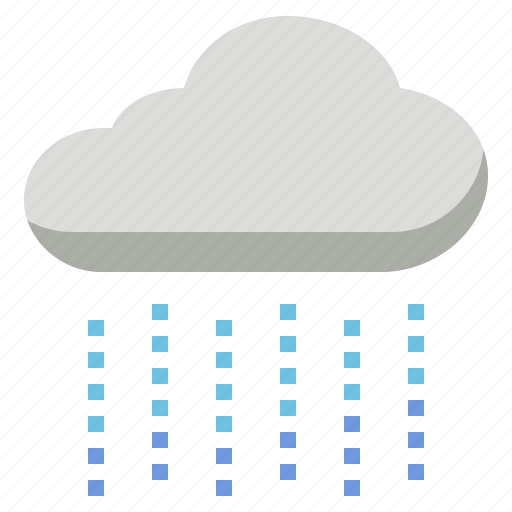 Cloud, drizzle, rain, raindrop, rainfall, rainy, wet icon - Download on Iconfinder