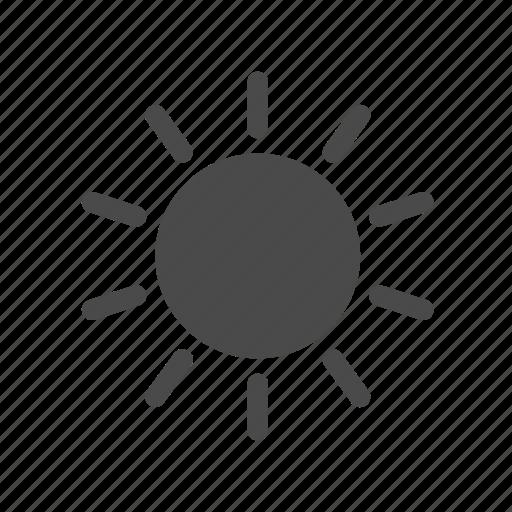 day, forecast, summer, sun, sunlight, weather icon