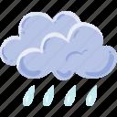 climate, clouds, rain, rainy icon