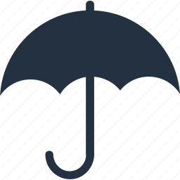 climate, cloud, cloudy, forecast, sunny, umbrella, weather icon