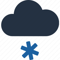 climate, cloud, cloudy, forecast, snow, sunny, weather icon