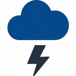 climate, cloud, cloudy, forecast, sunny, thunder bolt, weather icon