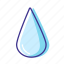 forecast, rain, water, weather icon