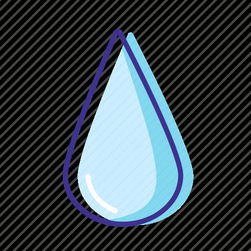 forecast, rain, water, weather icon