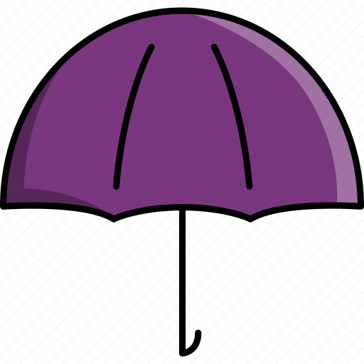 cold, rain, rainy, umbrella, weather icon