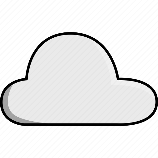 cloud, cloudy, day, nature, night, weather icon