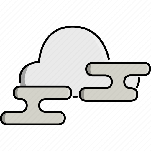 cloud, fog, foggy, nature, weather icon