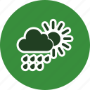 clouds, cloudy, drop, rain, weather icon