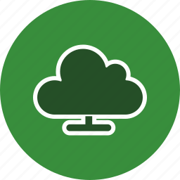 cloud computing, storage, upload icon
