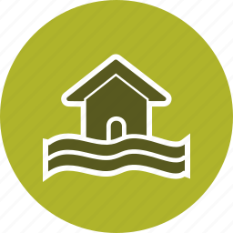 alarm, attention, board, error, flood, warning icon