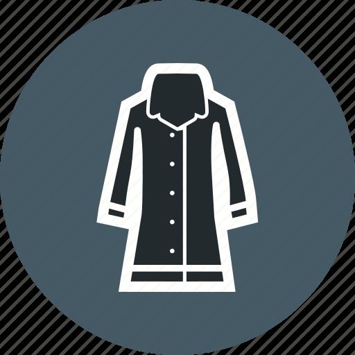 coat, forecast, rain, weather, winter icon