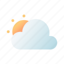 cloudy, day, weather, forecast, sun, sunrise, meteorology