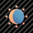 eclipse, sun, astronomy, moon, silhouette, phenomenon, ecliptic