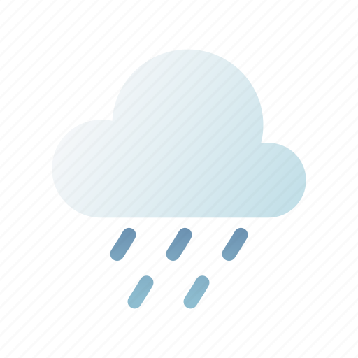 Light rain, meteorology, weather, climate, rainy, forecast, drizzle icon - Download on Iconfinder