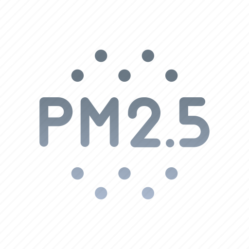 Pm2.5, dust, pollution, smog, dangerous, unhealthy, particulates icon - Download on Iconfinder