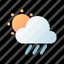 rainy, day, sun, cloudy, weather, overcast, forecast