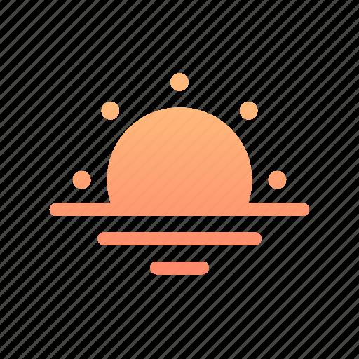 Sunrise, sun, sunset, sunlight, dawn, morning, evening icon - Download on Iconfinder