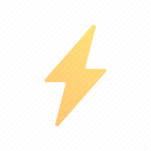Thunder, thunderbolt, lightning, power, energy, electricity, electric icon - Download on Iconfinder