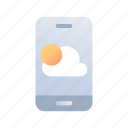 weather, application, forecast, climate, meteorology, temperature, smartphone