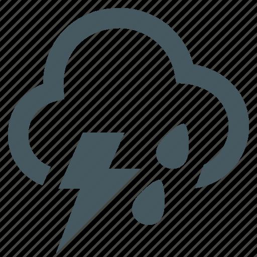 bolt, gizmo, lightning, lightning bolt, lightning rain, season, simple, thunder, thunderstorm, weather, weather app icon